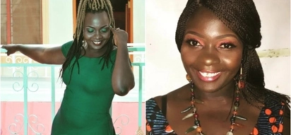 Popular musician Nyota Ndogo's awful makeup fail sends the internet into a frenzy