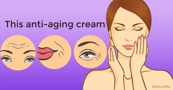 The anti-aging cream can help you reduce wrinkles, crow's feet, and fine lines