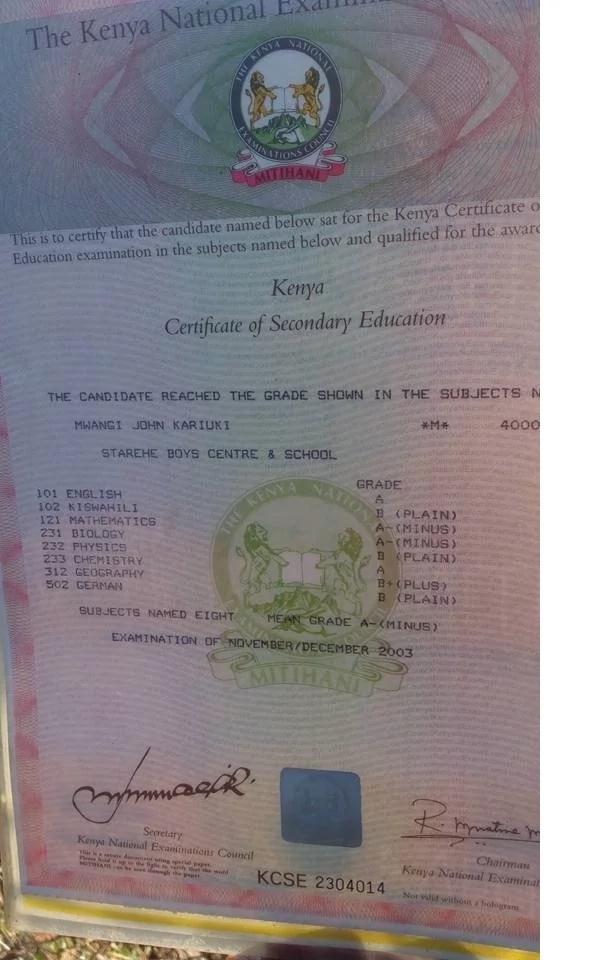 Hadithi ya kuvunja moyo ya jamaa huyo aliyesomea chuo kikuu cha Kenyatta na sasa anaomba omba mjini Nairobi (Picha)