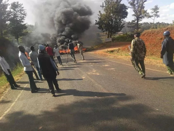 Violent protests mar the end of Uhuru's Meru visit