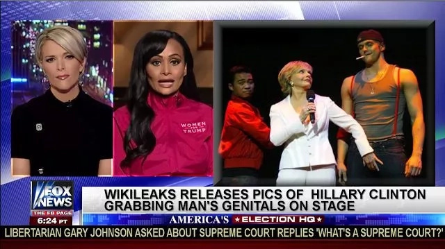 Wait, Did Wikileaks Release Hilary Clinton Holding MAN'S CROTCH? (Photos)