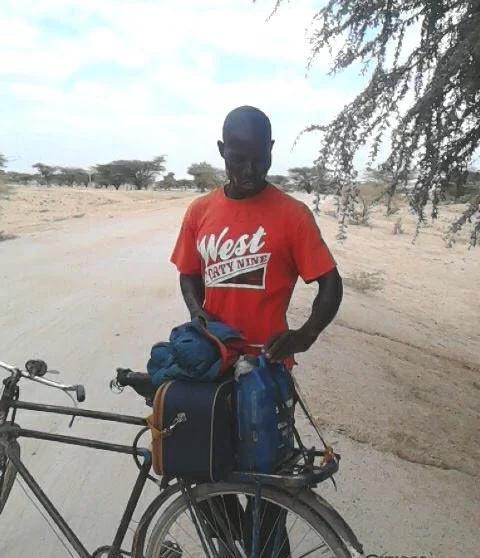 Bungoma man cycles for 27 hours to watch high school football