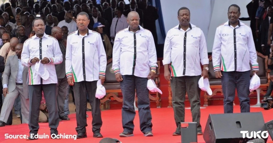 DP Ruto SAVAGELY tears into NASA after it named Raila as flag-bearer