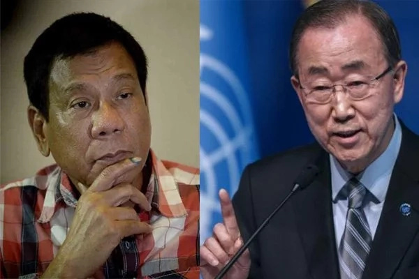 Ban Ki-Moon requested to meet Duterte but he declined