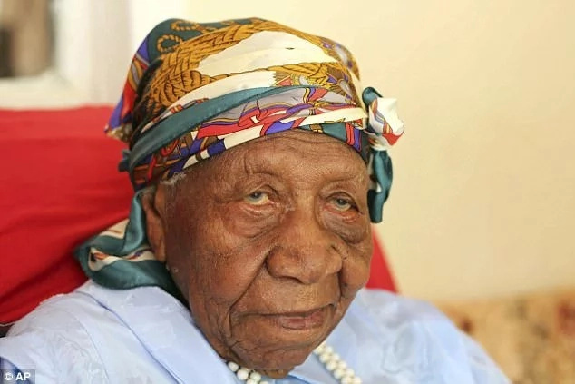 Violet Mosse-Brown is the world's oldest living person, aged 117