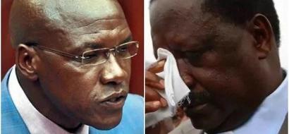 Vocal Kakamega Senator Boni Khalwale slams Raila Odinga