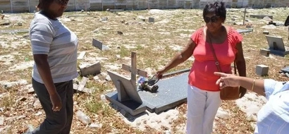 Dead man's grave VANISHES weeks after his funeral, his wife in despair (photo)