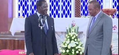 Itakumbukwa: Siku ambayo Rais Kenyatta alimtetea dadake Raila Odinga