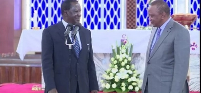 Uhuru is angry because he thinks the presidency is his birthright-Raila