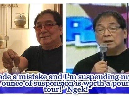 """Joey de Leon """"suspends self"""" from Eat Bulaga! over depression issue?"""