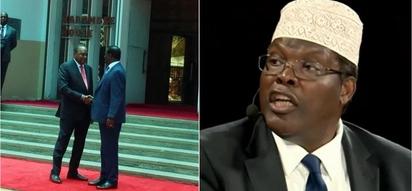 Hatimaye Miguna Miguna azungumzia salamu kati ya Raila Odinga na Uhuru Kenyatta
