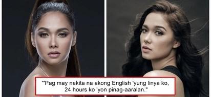 Hindi naman daw kasi mapag-Ingles sa totoong buhay! Maja Salvador admits that English lines are her weakness