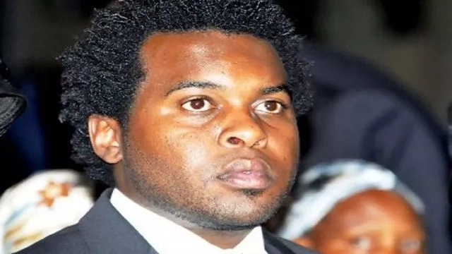 Did the son of the late VP Saitoti, Zachary Saitoti WED in secret?
