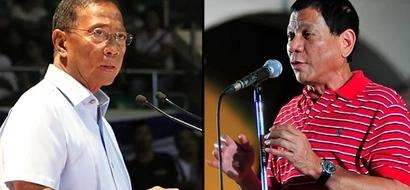 Duterte, sick? Rival Binay says so