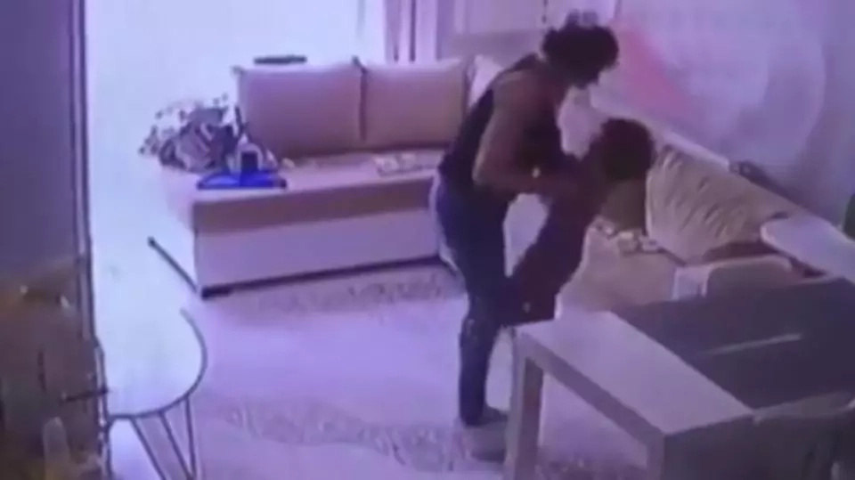 Mom watches hidden footage of nanny with the baby, then immediately calls the police