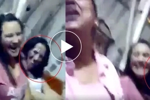 Nakakatakot! Ghost caught sitting with Pinoys in Las Vegas Theme Park
