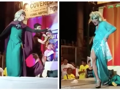 This performance is how Comedian Elsa 'Droga' got his name