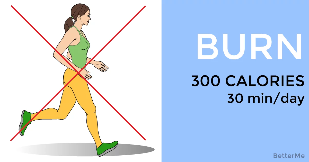 Burn 300 Calories or More in 30 Minutes Without Running