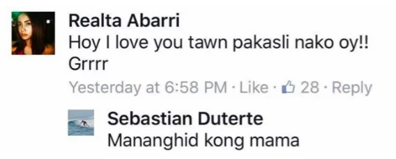 14 hilarious replies from Baste Duterte to his fans