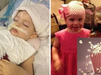 Babala sa mga magulang! 2-year-old baby girl shockingly dies after choking on popcorn