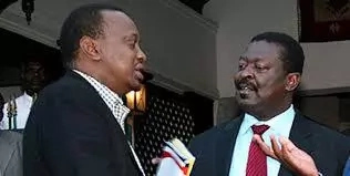 How Uhuru is lying to Kenyans about IEBC reforms - Musalia Mudavadi
