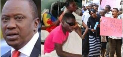 Wagonjwa wa AKILI wafukuzwa kutoka hospitali huku mgomo wa wauguzi UKINOGA