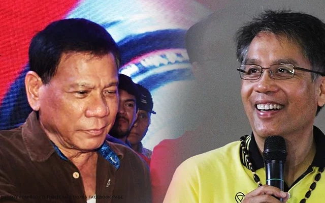 Roxas applauds political rival Duterte