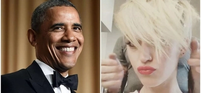 Funny? Famous pop singer under fire after disgusting joke about Barack OBAMA and her hair (photos, video)