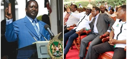 Raila vows to form parallel government even from exile, denies he disagreed with co-principals on swearing-in