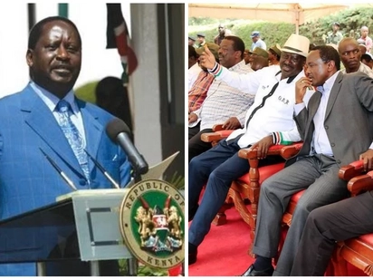 Raila vows to form parallel government at all cost, including from exile, after taking oath