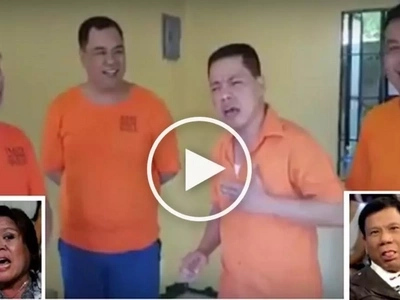 Nang-asar pa! Defiant convicts dedicate hilarious song to embattled De Lima