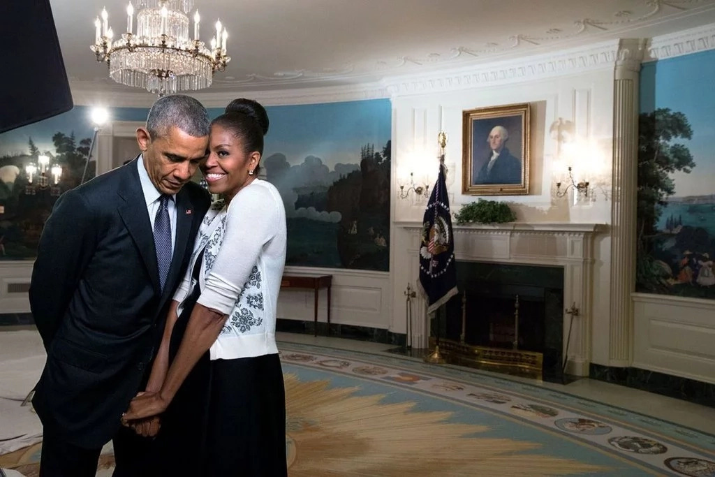 Michelle Obama's tweet for her 25th wedding anniversary is TOO cute