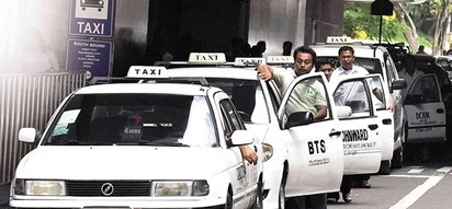 """This is an effective way to avoid paying the """"dagdag"""" to taxi drivers"""
