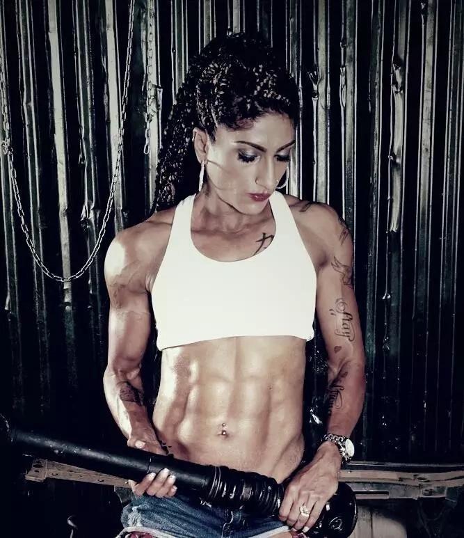 Meet Sheetal Kotak Kenya's hottest female bodybuilder