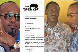Raila Odinga UNEXPECTEDLY responds to fake KWS report on Hassan Joho