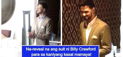 Ang pogi ng groom! 1st look at Billy Crawford's suit for his wedding with Coleen Garcia goes viral