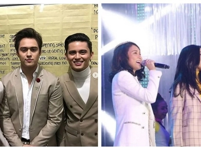 All your fave couples! LizQuen, JaDine, KathNiel at 'Just Love' Christmas Special
