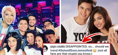 "Netizens call out James Reid, Nadine Lustre, want them out of 'It's Showtime!': ""They're Irresponsible!"""
