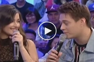 Liza and Enrique finally admit that they love each other and the moment is super kilig! Watch it!