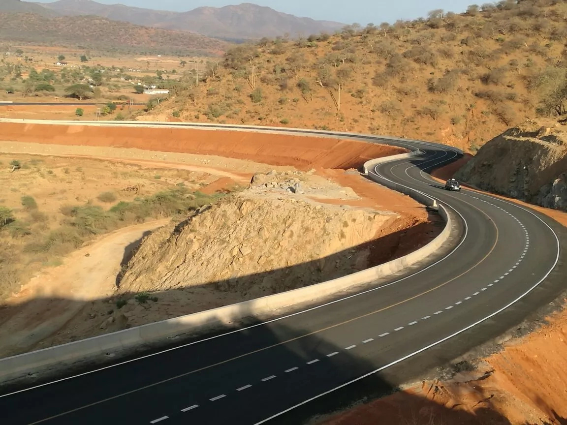 Is this the BEST and most scenic ROAD ever built in Kenya?