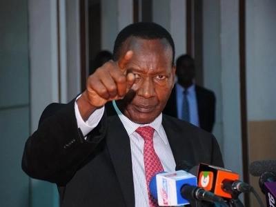 Nkaissery atisha kumshtaki kinara wa CORD Raila Odinga