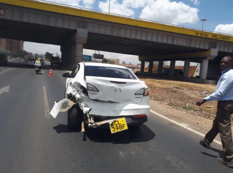 Former Kakamega senator Boni Khalwale and wife escape unhurt in road accident
