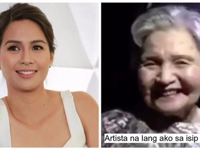 Siya 'yung artista! Kaye Abad's grandmother has completely forgotten about her in this funny clip