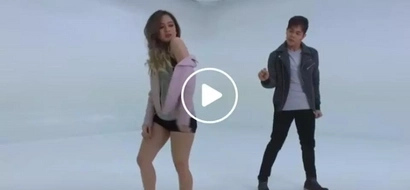 Ella Cruz sizzles with Julian Trono for their dance cover of 'Versace on the Floor'