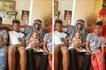 Kenyans surprised by how Diamond's kids look so much alike(photos)