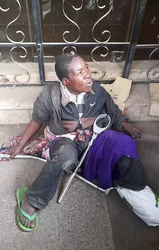 Another fake street beggar busted in Nairobi
