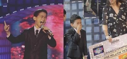 Jhon Clyd Talili hailed as first 'Tawag Ng Tanghalan Kids' grand champion