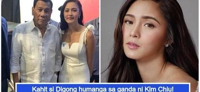 Na-starstruck si Digong! Kim Chiu, sobrang saya ng ma-meet si President Duterte