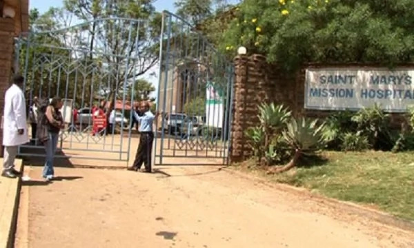 Police deployed at St. Mary's Mission Hospital as tension rises