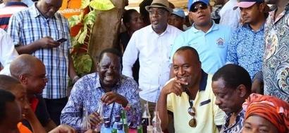 Video: ODM gives reason why Raila Odinga fell down in Malindi